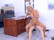 Olivia Fox rides Bruce Ventures cock on top