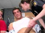 Sexy police women sucking cock and cant get enough