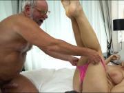 19 yo Aida Swinger pussy and ass eaten and banged by grandpa