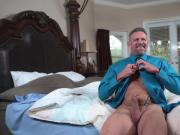 Nicole Bexley goes on top of that matured cock and bounce her pussy off