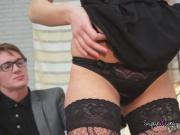 Skillful Hooker Alina Blows Clients Cock