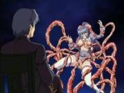 Huge-Busted Anime Gal Pleasured By Tentacles