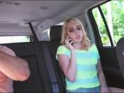 Stranded teen girl Kiera Daniels hard fucking with stranger