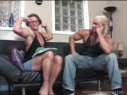 Ravishing Body-Builder Chick Loves Cocksucking  Fucking