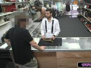 Suspender Guy Takes It Up The Ass In The Pawnshop