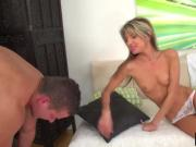 Gina Gerson Blonde Blowjob Sideways Big Dong