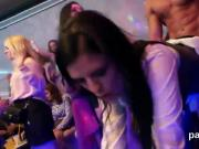 Kinky sweeties get completely crazy and naked at hardcore party
