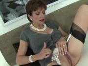 Cheating english milf lady sonia flashes her massive tits