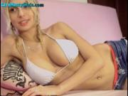 Perfect Tits On This Blonde Webcam Girl