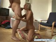 Brazen Blonde Babe Is One BJ Queen