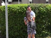 Hot Gia Paige picks up a random dude for a hard fucking