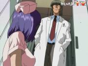 Fiery Hentai Nurse Has Boobs Pleasured And Twat Serviced