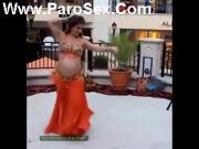 pregnant dancer