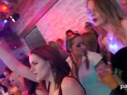 Frisky nymphos get fully insane and undressed at hardcore party