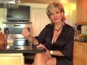 Unfaithful british milf lady sonia reveals her giant boobs