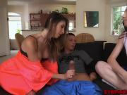 Amazing milf Dana Foxx seduces stepdaughters Zoes bf Tyler