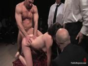 Anally bonked BDSM slave Bobbi Starr