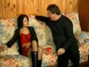 Brunette Analfucked In Stockings - Free Sex Video