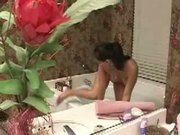 Girl Alone in the bath - Free Sex Video
