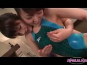 Lesbian Oil Massage In Swimsuit - Free Porn Video