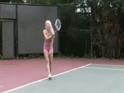 Sativa Rose Tennis Lesson. - Free Porn Video