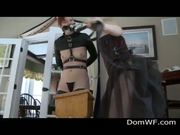 Bound Babe Ass Spanked And Whipped - Free Porn Video