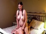 Cute(18+) Milf Second Video Ever In Pigtails