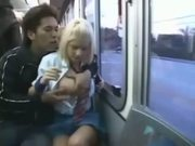 White Coed Toyed In Japan Bus! - Free Sex Video