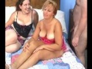 Lisa, Cloe and Logan have a threesome