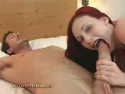Redhead Sucks Cock