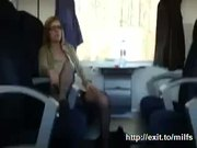 Public Sex In The Train With Busty Mother - Free Porn Video