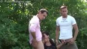 Public Threesome Sex By A Shopping Center - Free Sex Video