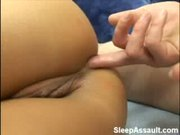 Sleeping Babe Gets Ass Fucked - Free Porn Video