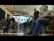 Gay Sucks Dicks In Hairdresser Shop - Free Porn Video