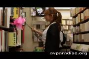 Lustful Girl At Secondhand Bookstore - Free Sex Video