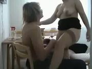Milf And Young(18+) Guy Fuck On Chair And Table - Free Sex Video