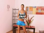 Angel Dark Striptease - Free Porn Video