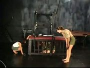 Two Babes Interrogate Third Using Kinky Tools - Free Sex Video