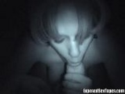 Amateur Blowjob In The Dark