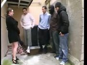 French Bbw Emy Plays The Whore With 5 Guys - Free Porn Video