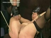 Milf Slave Gets Spanked On Her Ass And Fuck  - Free Sex Video