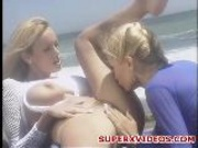 Hardcore Lesbian Sex Inthe Beach