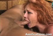 This horny redhead gets her ass fucked hard - Free Sex Video