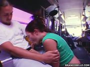 Public Blowjob on Transit Bus REAL - Free Porn Video