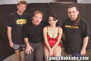 Big Titted Hottie gets a Bukkake! - Free Porn Video