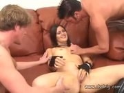 Selena Takes Two Boys For A Ride  - Free Porn Video