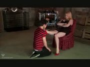Femdom Full-Body Flogging & CBT - Free Sex Video