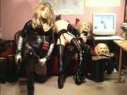 Doll Fucking Latex Crossdressing - Free Sex Video