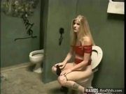 Lewd Chick Hard Fucked In Toilet - Free Sex Video