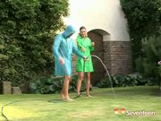 Watering the Garden - Free Porn Video